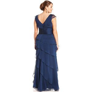 Adrianna Papell Dresses - Adrianna Papell Gown empire waist  Sz 14 Plus size
